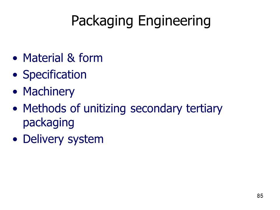 Packaging Engineering