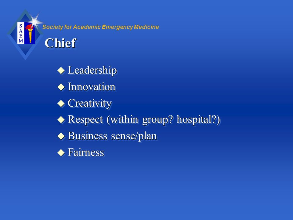 Chief Leadership Innovation Creativity