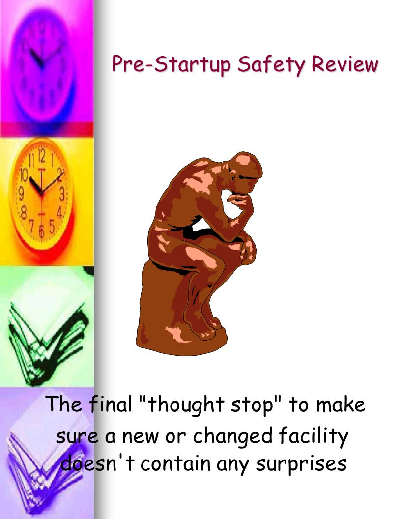 Pre-Startup Safety Review