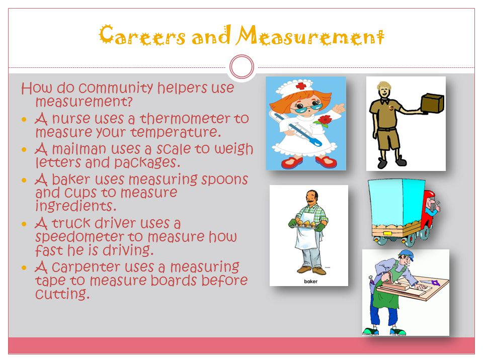 Careers and Measurement