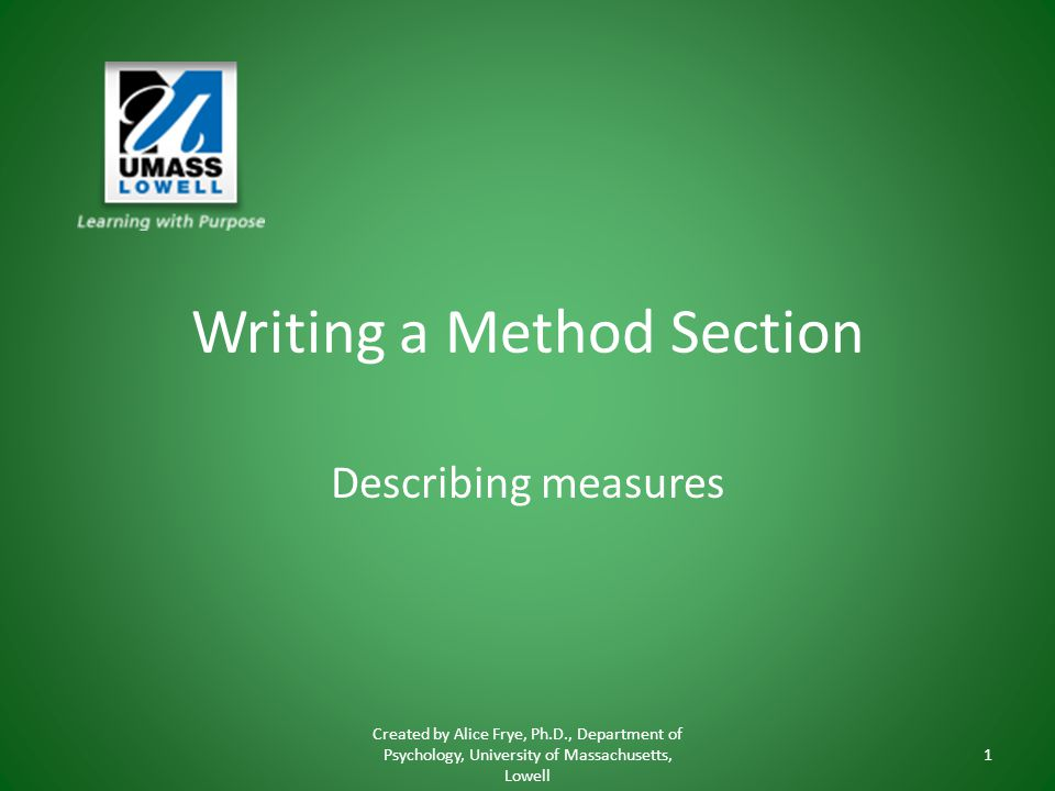 writing a method The methods section of your nonprofit grant proposal should explain in depth just how your organization will carry out your project.
