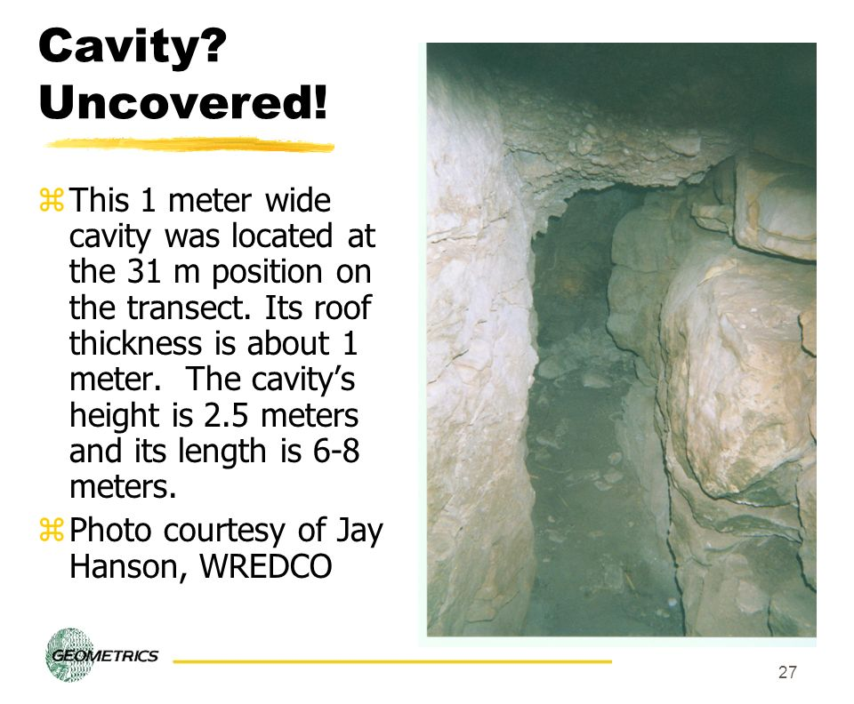 Cavity Uncovered!
