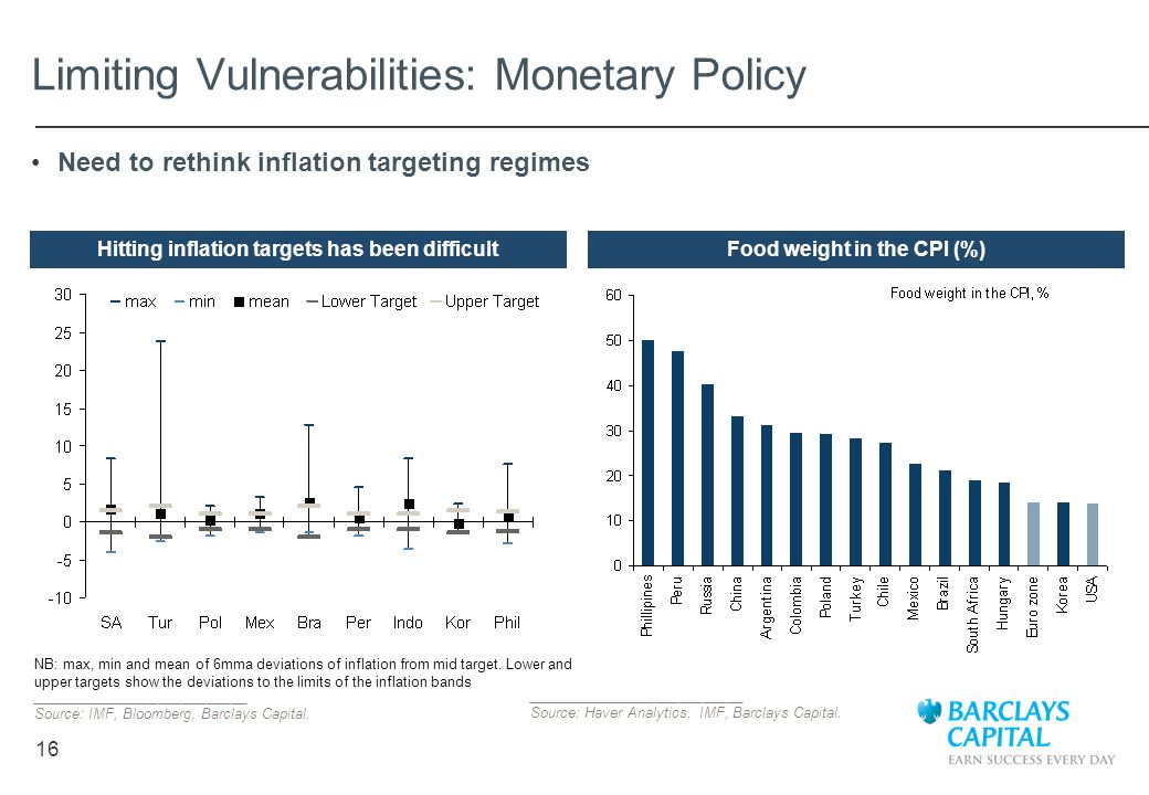Limiting Vulnerabilities: Monetary Policy