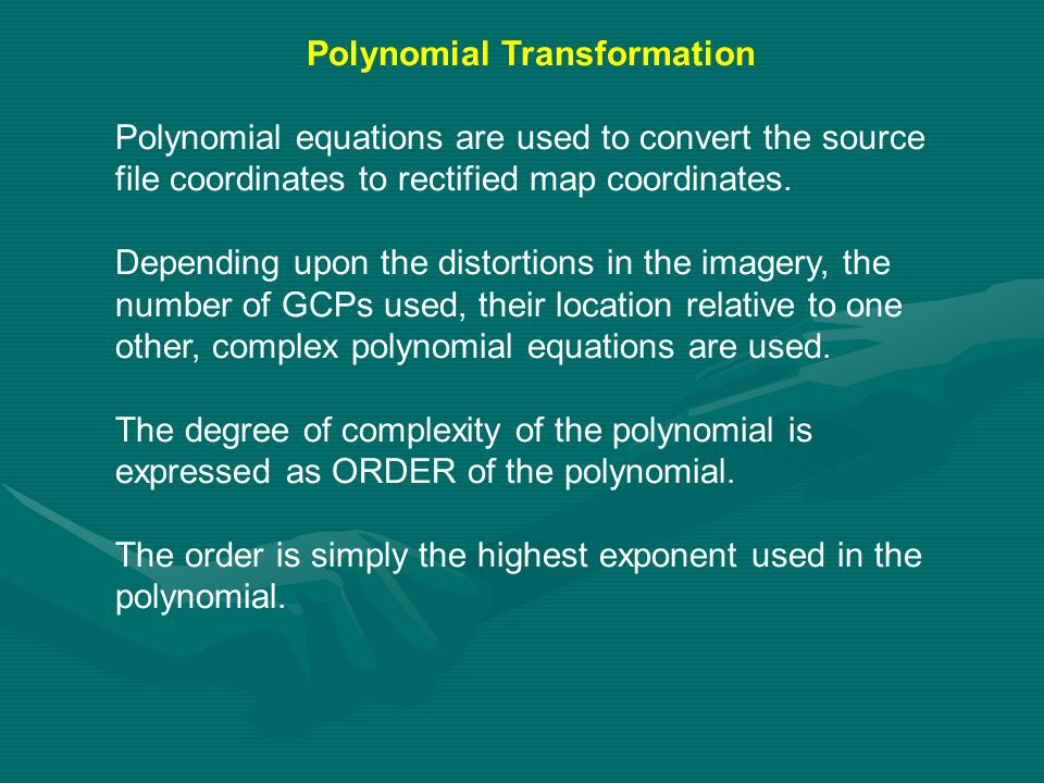 Polynomial Transformation