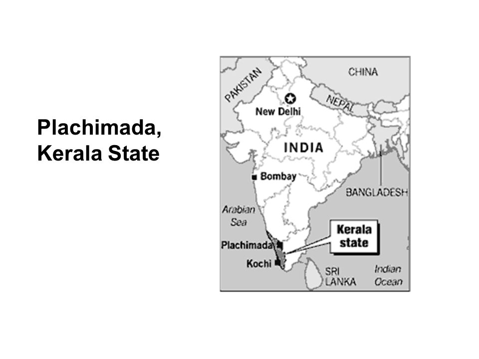 Plachimada, Kerala State