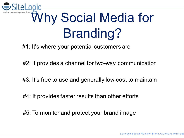 Why Social Media for Branding
