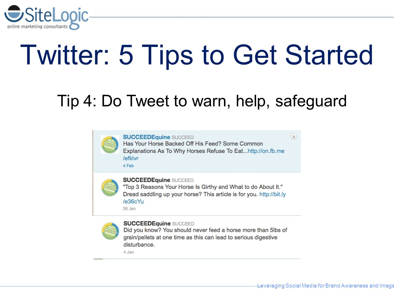 Twitter: 5 Tips to Get Started