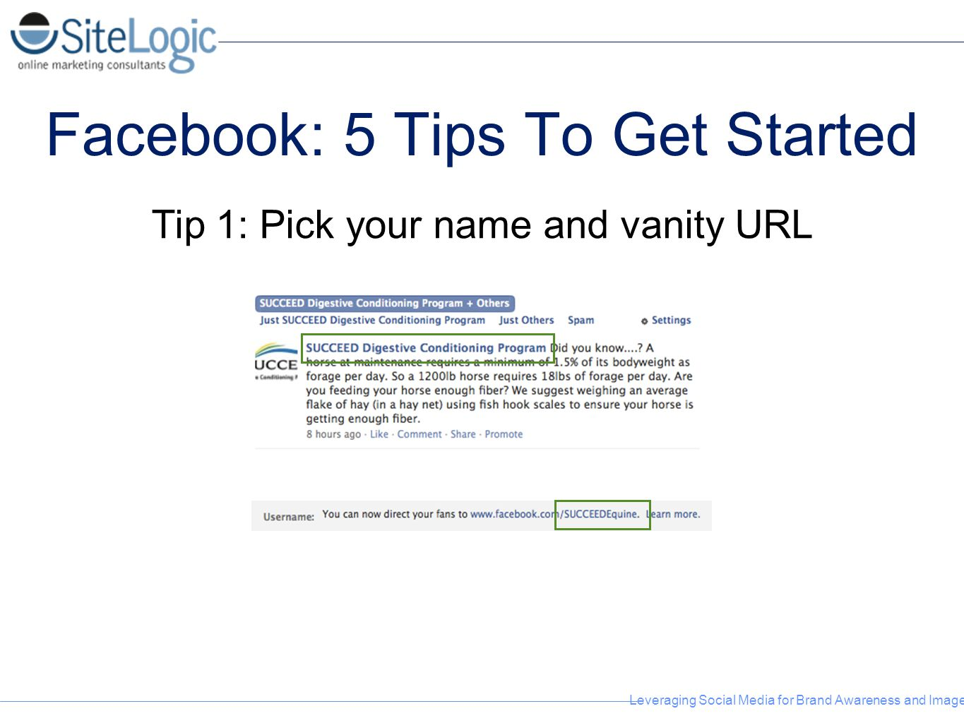 Facebook: 5 Tips To Get Started