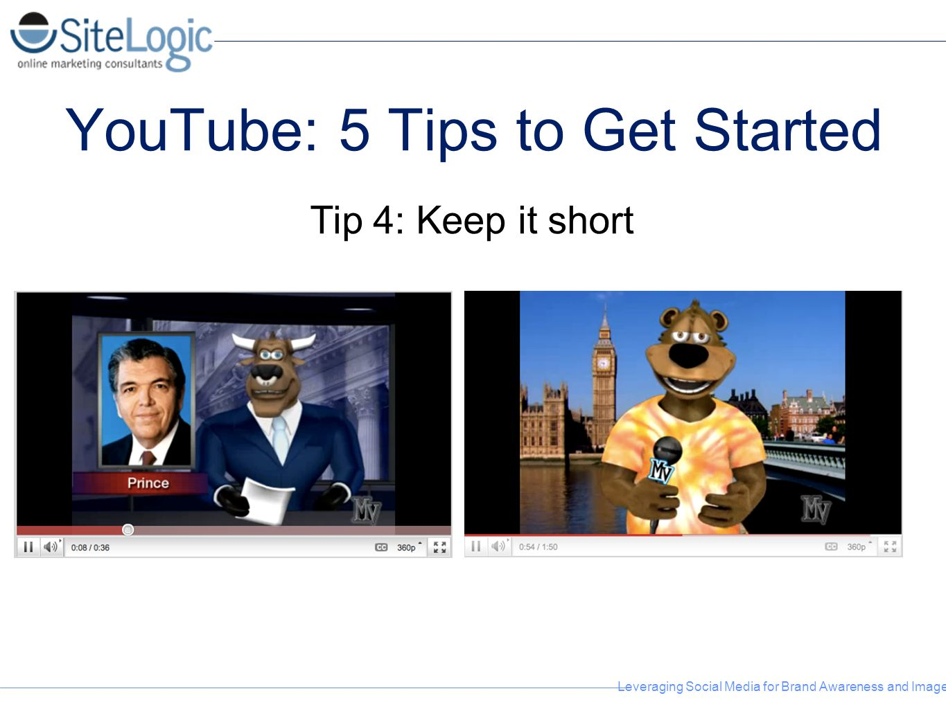 YouTube: 5 Tips to Get Started