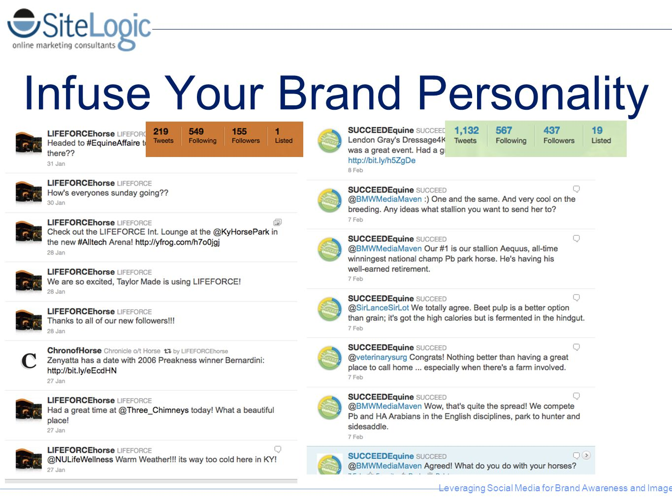 Infuse Your Brand Personality