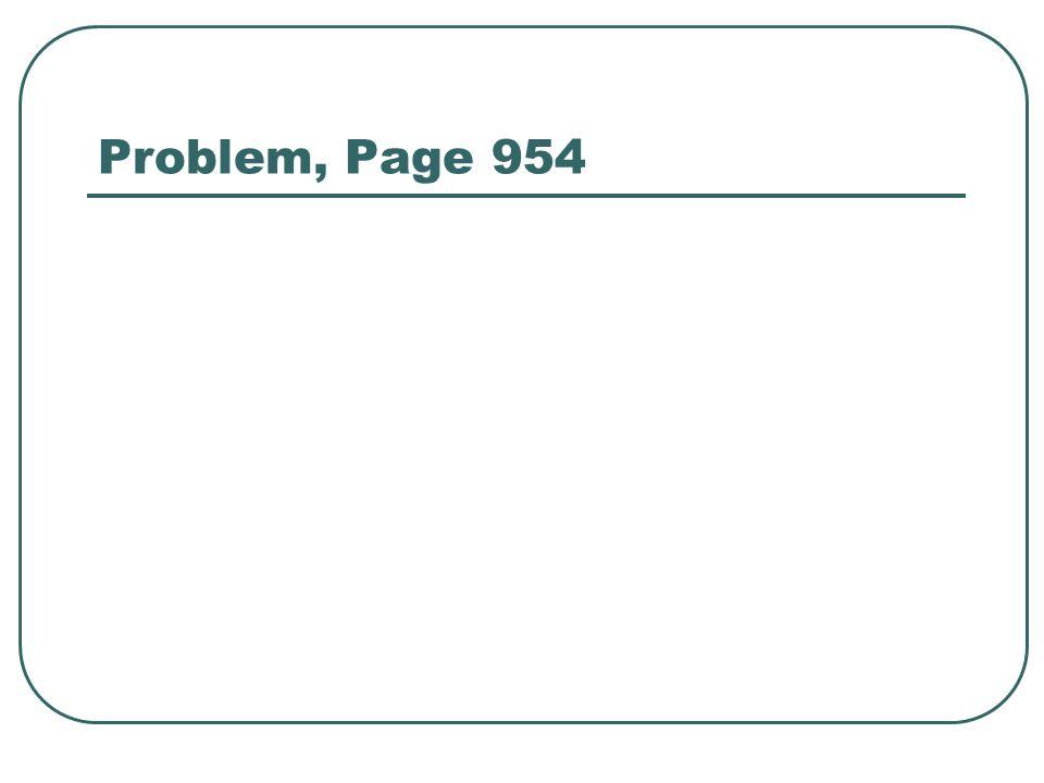Problem, Page 954