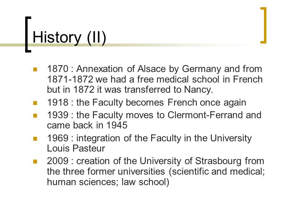 History (II)