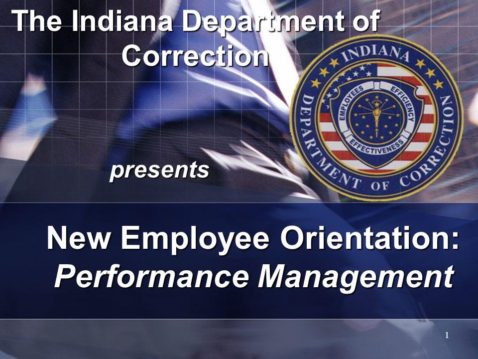 New Employee Orientation: Performance Management