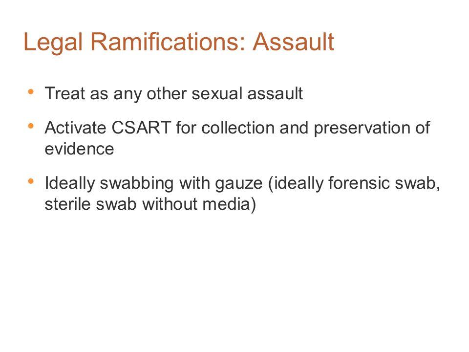 Legal Ramifications: Assault