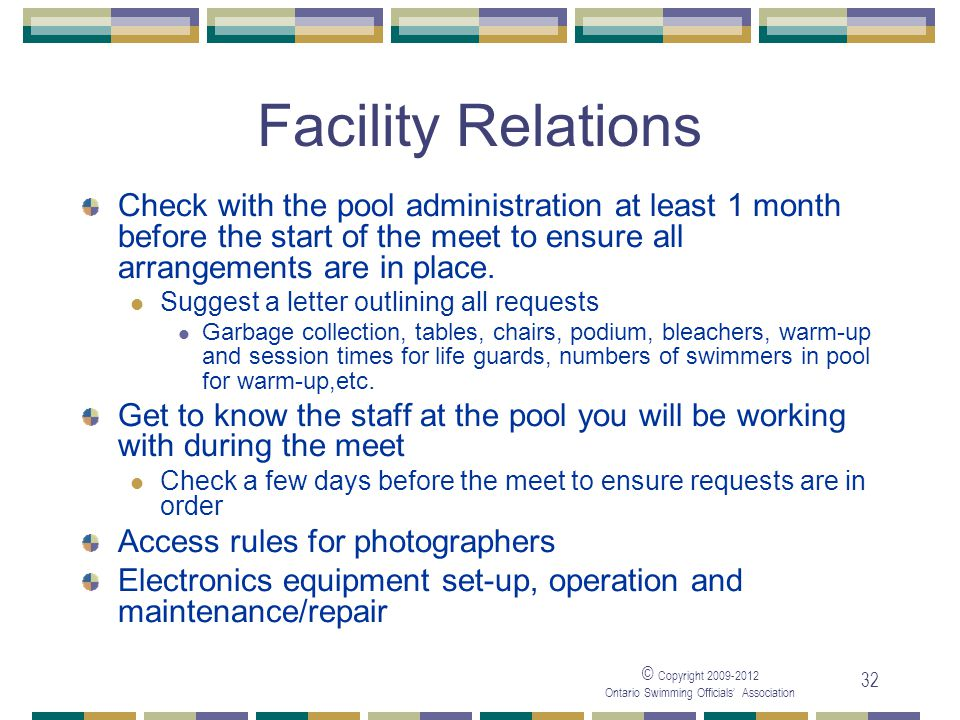 05/04/2017 Facility Relations.
