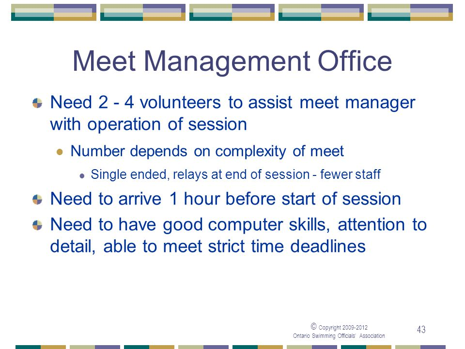 Meet Management Office