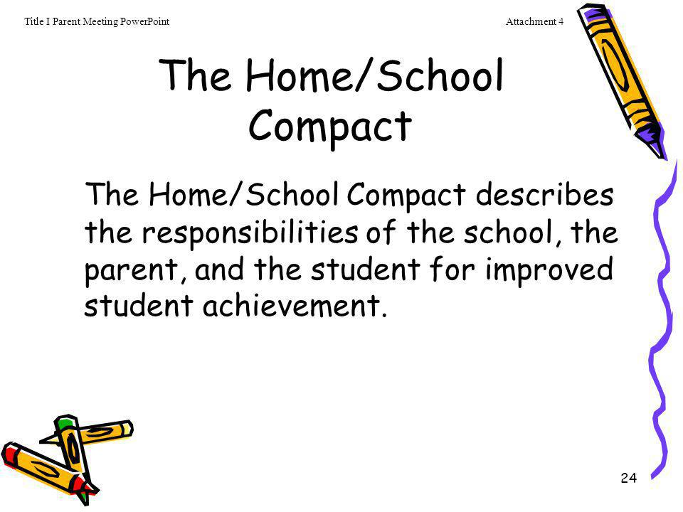 The Home/School Compact