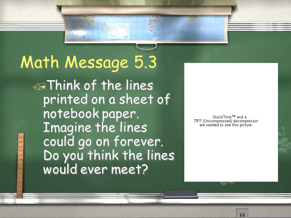 Math Message 5.3