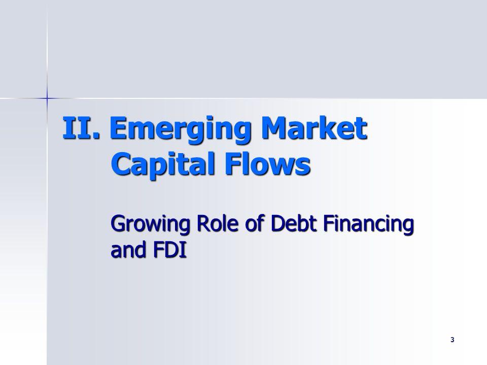 II. Emerging Market Capital Flows