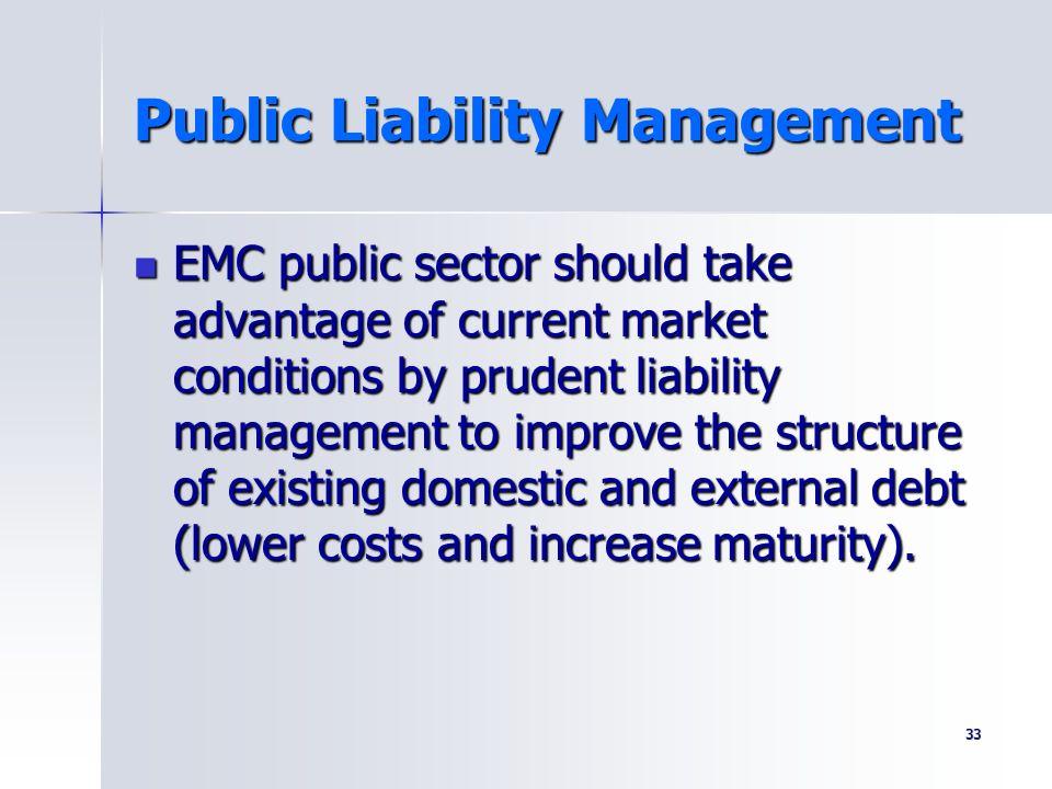 Public Liability Management
