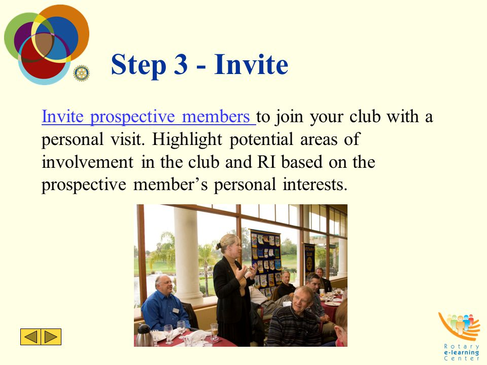 Step 3 - Invite
