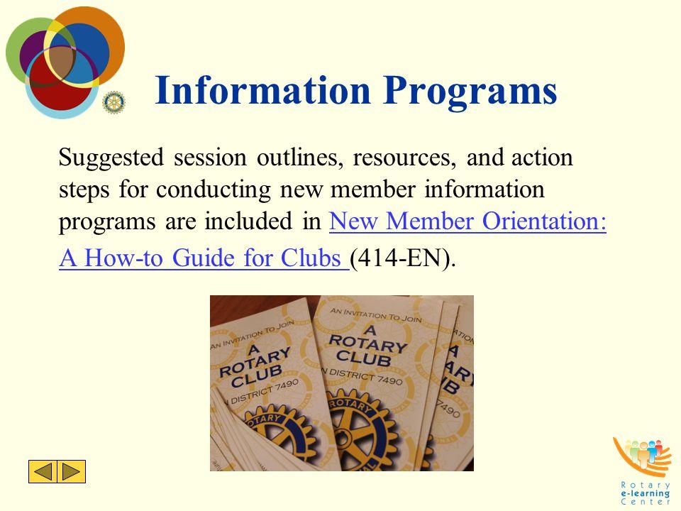 Information Programs