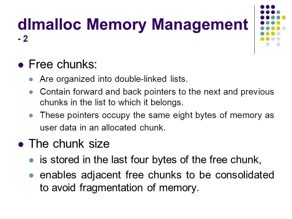 dlmalloc Memory Management - 2