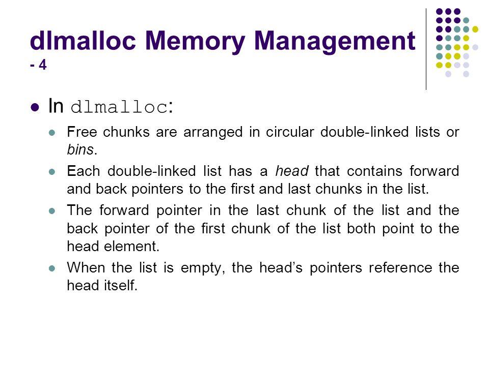 dlmalloc Memory Management - 4
