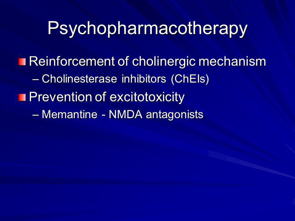 Psychopharmacotherapy