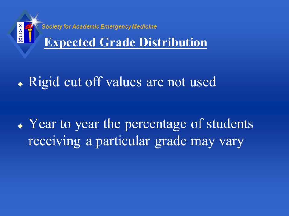 Expected Grade Distribution