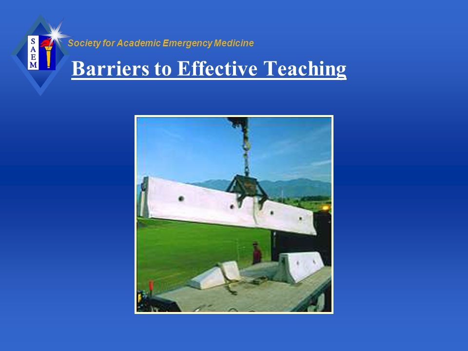 Barriers to Effective Teaching