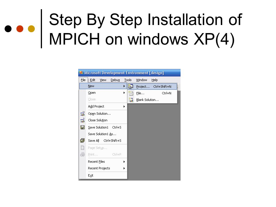 Step By Step Installation of MPICH on windows XP(4)