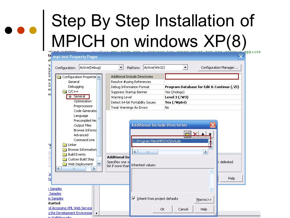Step By Step Installation of MPICH on windows XP(8)