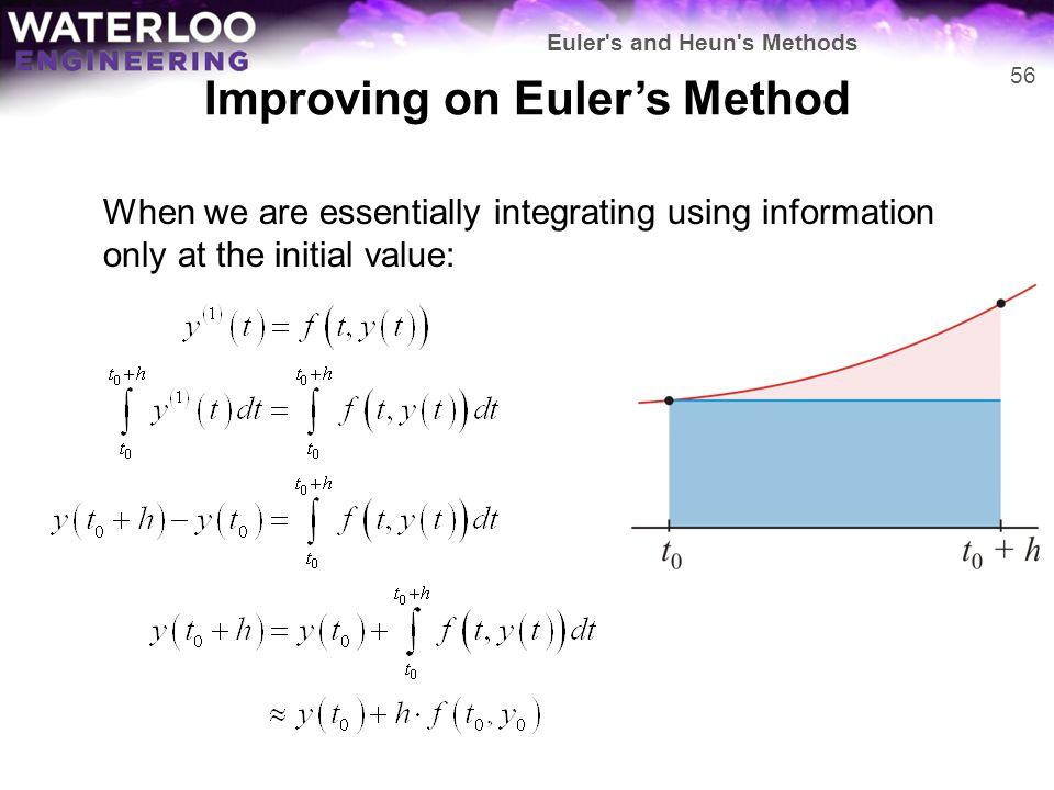 Improving on Euler's Method