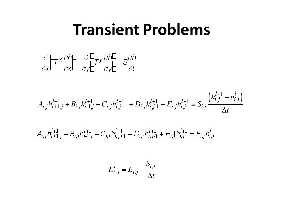 Transient Problems