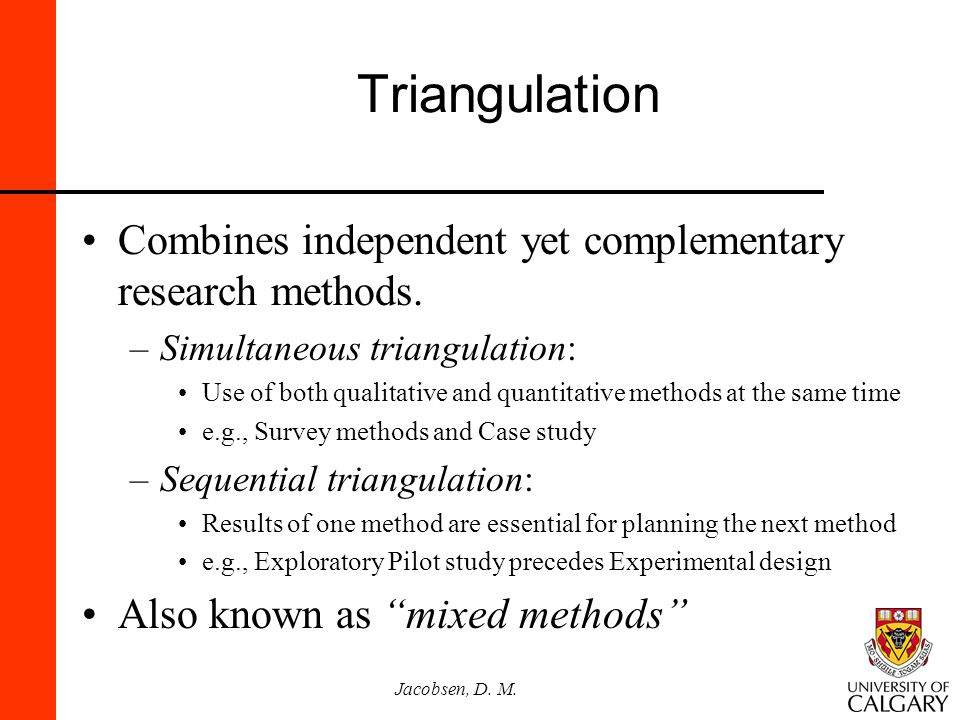 qualitative case study triangulation Case study research has a long history within the natural sciences, social sciences, and humanities, dating back to the early 1920's at first it was a usefu.