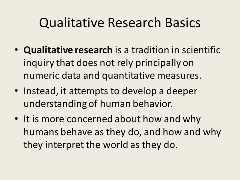 fundamental of statistics qualitative and quantitative There are some fundamental differences between qualitative research is not just a matter of performing techniques on data rather, each qualitative method is a specific way of an analysis of the strengths and limitation of qualitative and quantitative research paradigms problems.