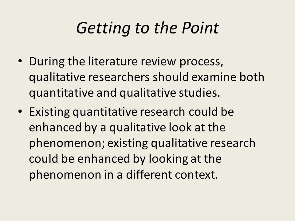 write on the role of quantitative What is a not a literature review a literature review is not simply a chronological catalog of all your sources, but an evaluation it pulls the previous research together, and explains how it connects to the research proposed by the current paper.