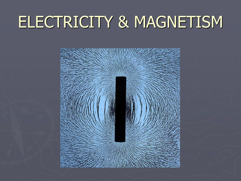 ELECTRICITY & MAGNETISM