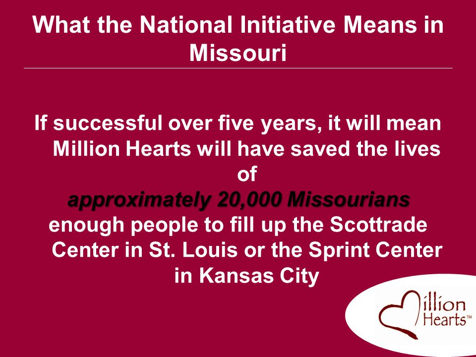 What the National Initiative Means in Missouri