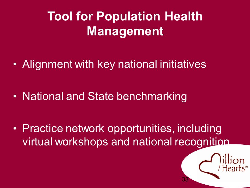 Tool for Population Health Management