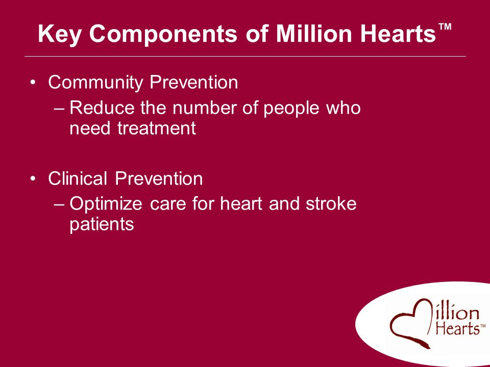 Key Components of Million Hearts™