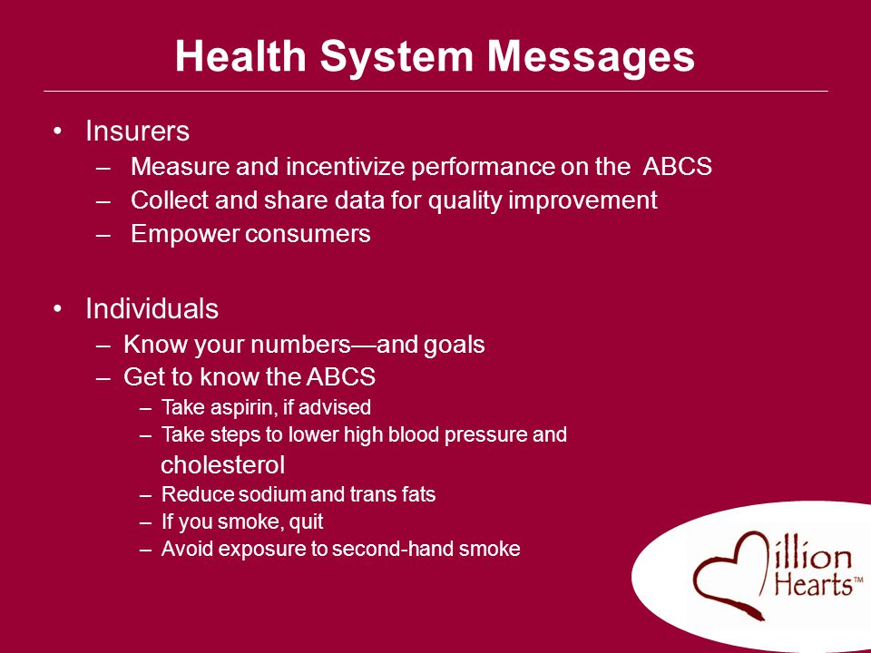 Health System Messages