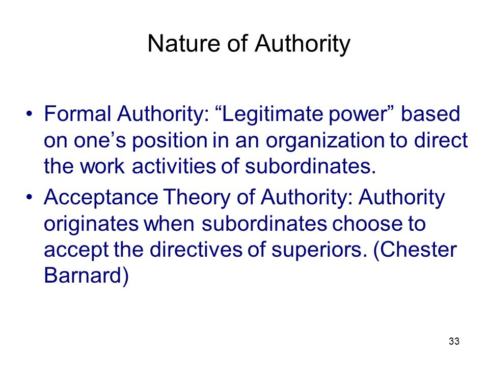 3/25/2017 Nature of Authority.