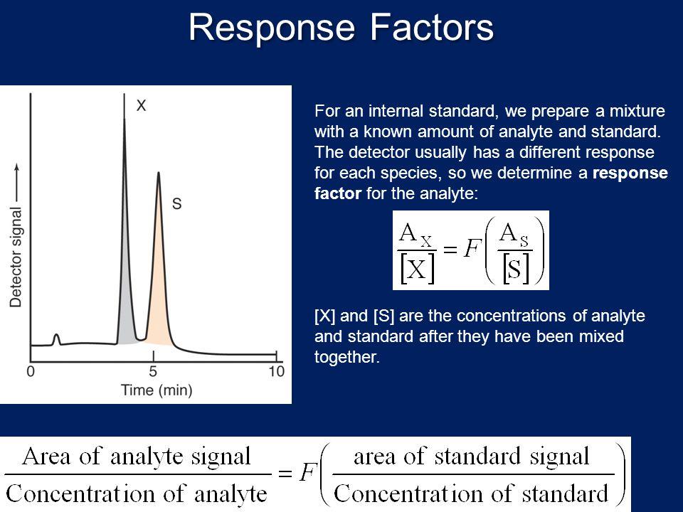 Response Factors