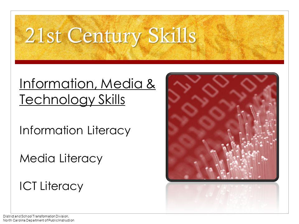 21st Century Skills Information, Media & Technology Skills