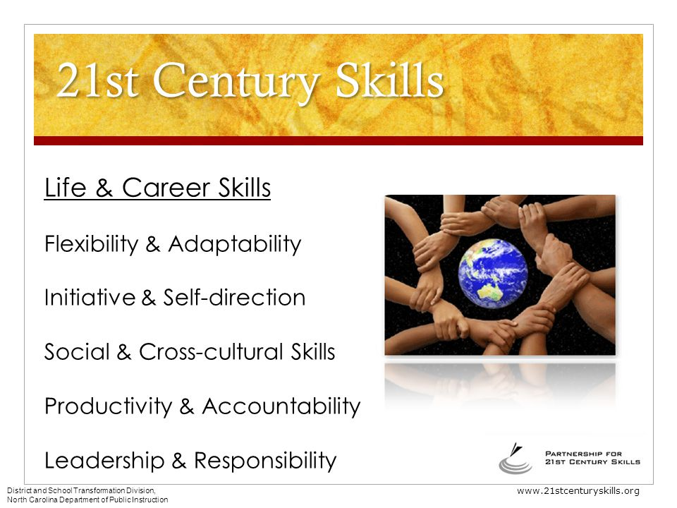 21st Century Skills Life & Career Skills Flexibility & Adaptability