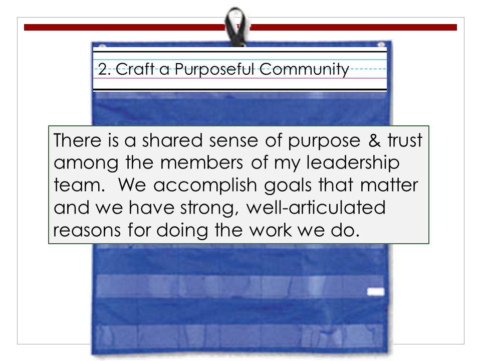 2. Craft a Purposeful Community