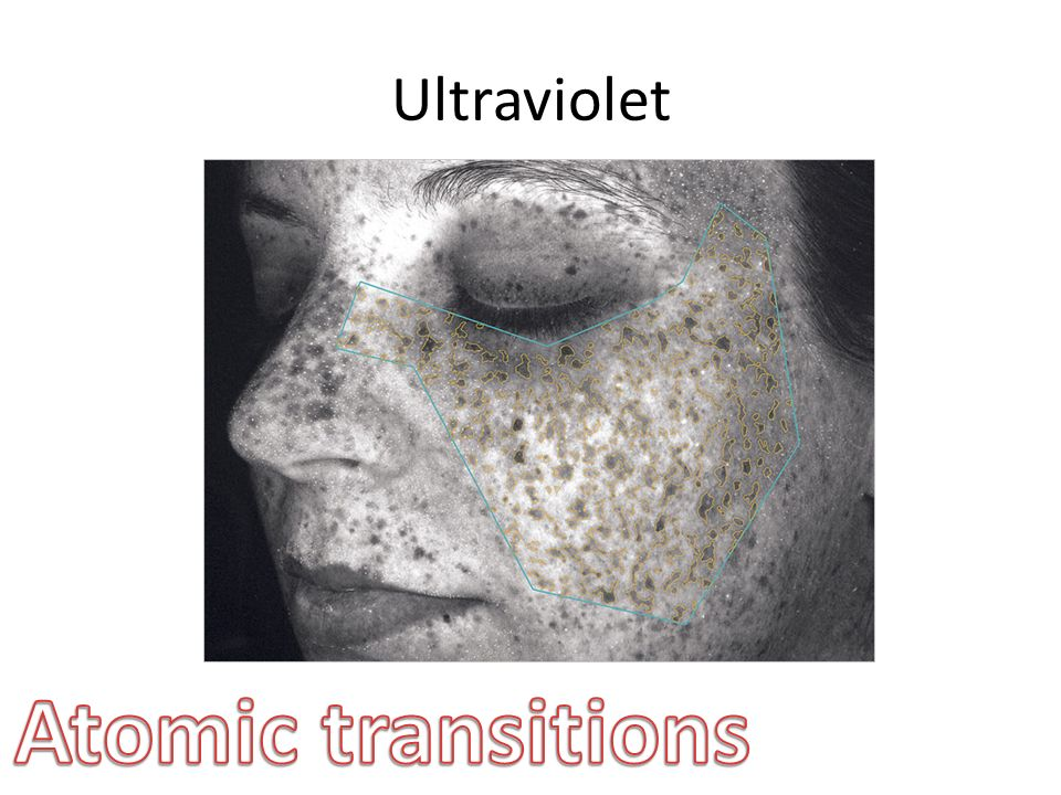 Ultraviolet Atomic transitions