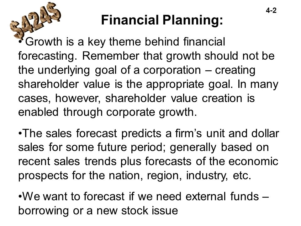 $424$ Financial Planning: